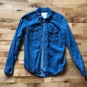 H&M Denim Button Up